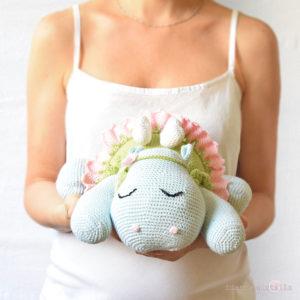 Olivia ippopotamo amigurumi a uncinetto, idee regalo per bambini