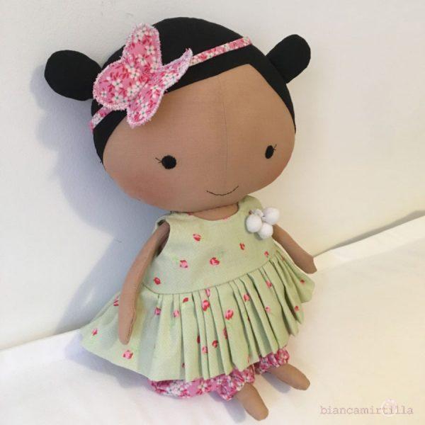 Amy bambola di stoffa idee regalo per bambini