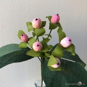 bacche di iperico fiori di carta componi il tuo bouquet idee regalo
