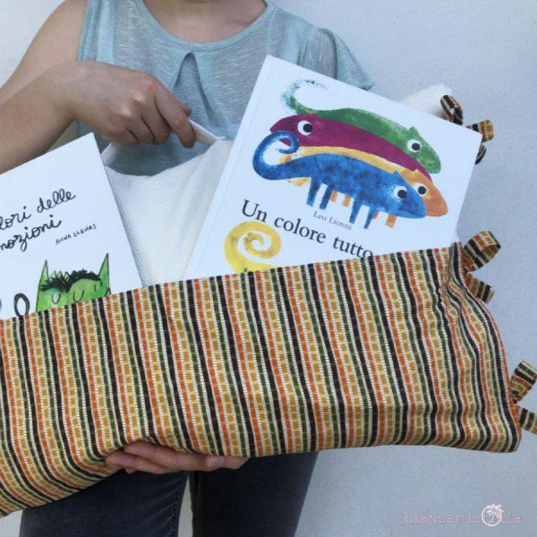 cuscino delle storie in tessuto cucito a mano idee regalo