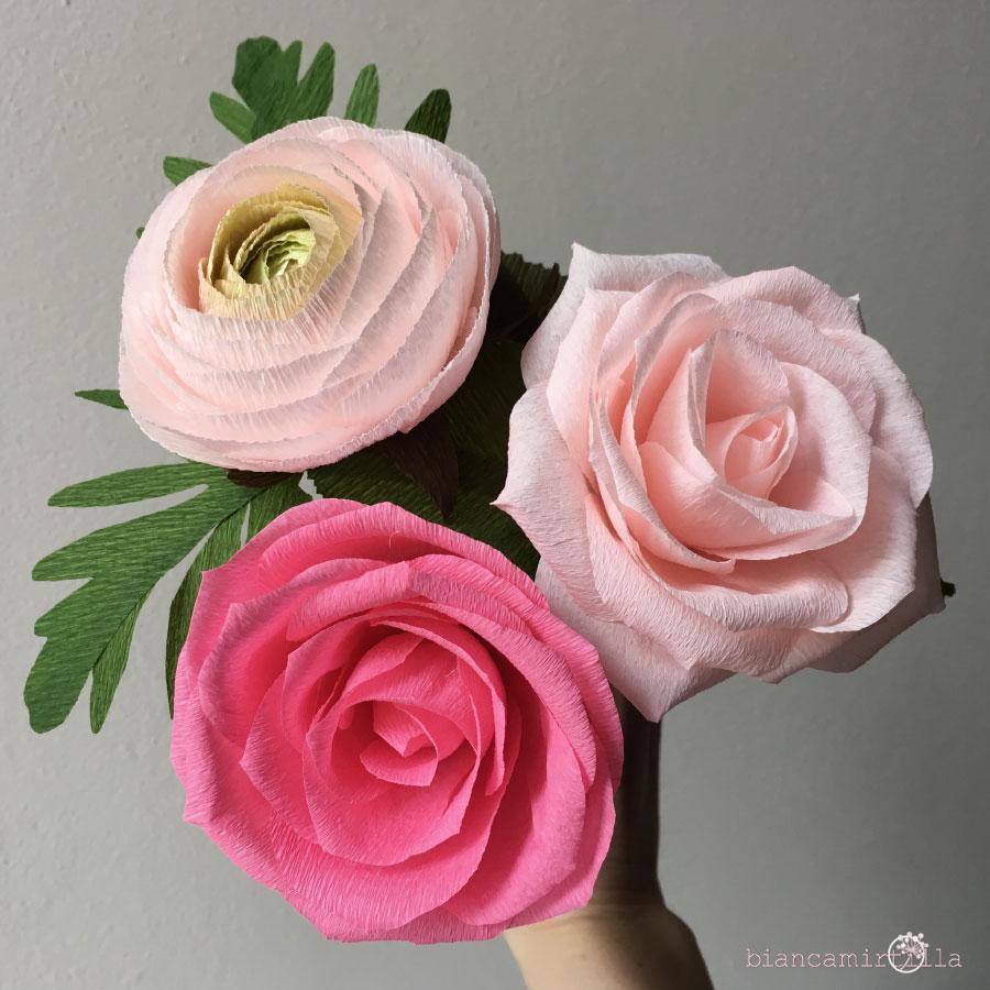 fiori di carta idee regalo