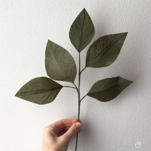 ramo con foglie di carta componi il tuo bouquet idee regalo