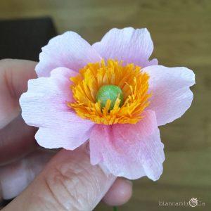 anemone giapponese fiori di carta