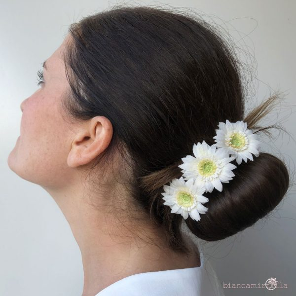 Gerbere tra i capelli fiori di carta idee regalo