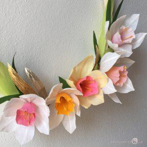 Narcisi fiori di carta idee regalo componi il tuo bouquet