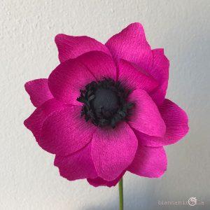 Anemone fiori di carta idee regalo componi il tuo bouquet