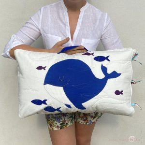 cuscino delle storie Balena idee regalo bambini