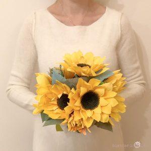 Bouquet Maria Sole fiori di carta idee regalo